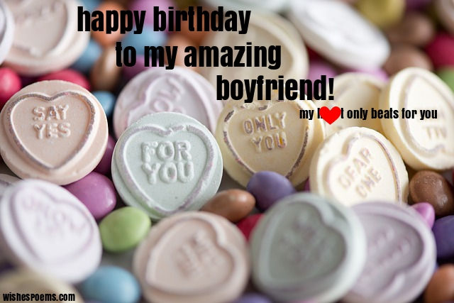 birthday wishes for a boyfriend
