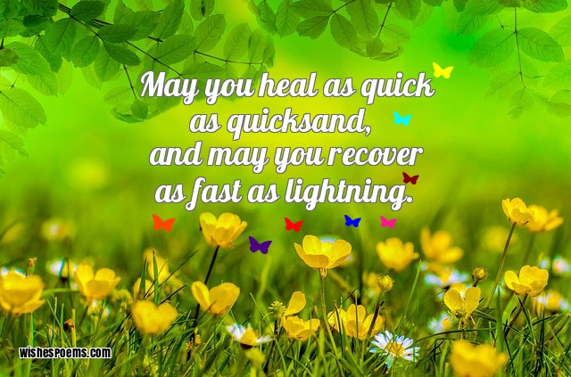 147 Get Well Soon Messages & Images - Wishes for Get Well Cards
