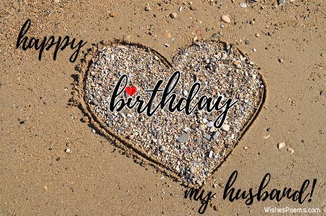 Happy Birthday My Husband