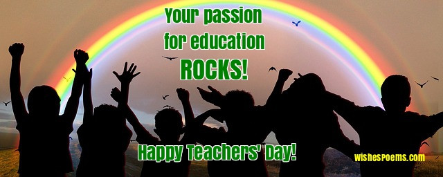 100 Happy Teachers' Day Wishes, Images, Quotes, Poems & Messages