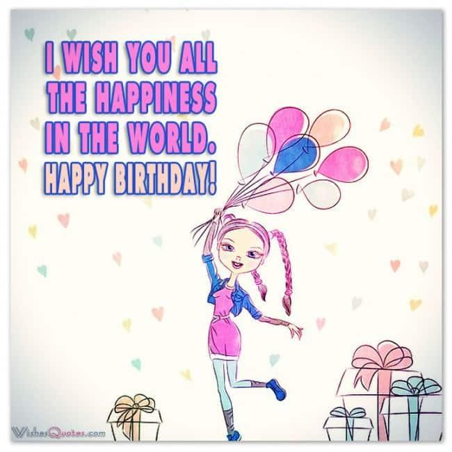 Happy Bday Invitation