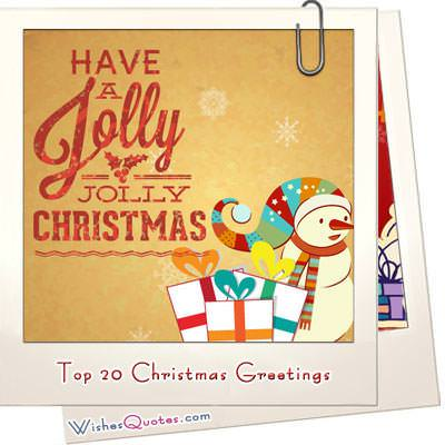 Top 20 Christmas Greetings Amp Cards To Spread Christmas Cheer