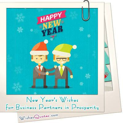 New Years Wishes For Business Partners In Prosperity