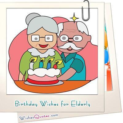 Birthday Wishes For Elderly