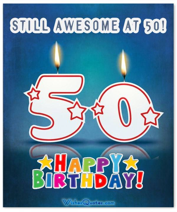 inspirational 50th birthday wishes