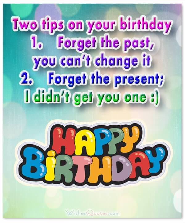 Humor 40th Birthday Quotes