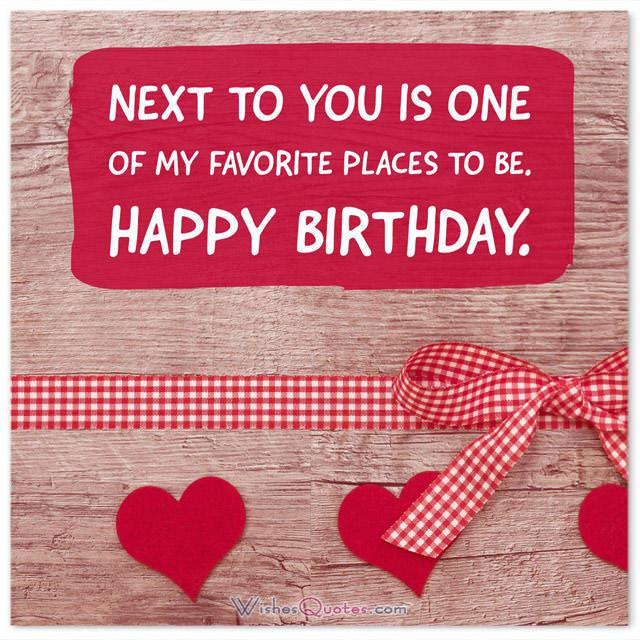 birthday love messages for