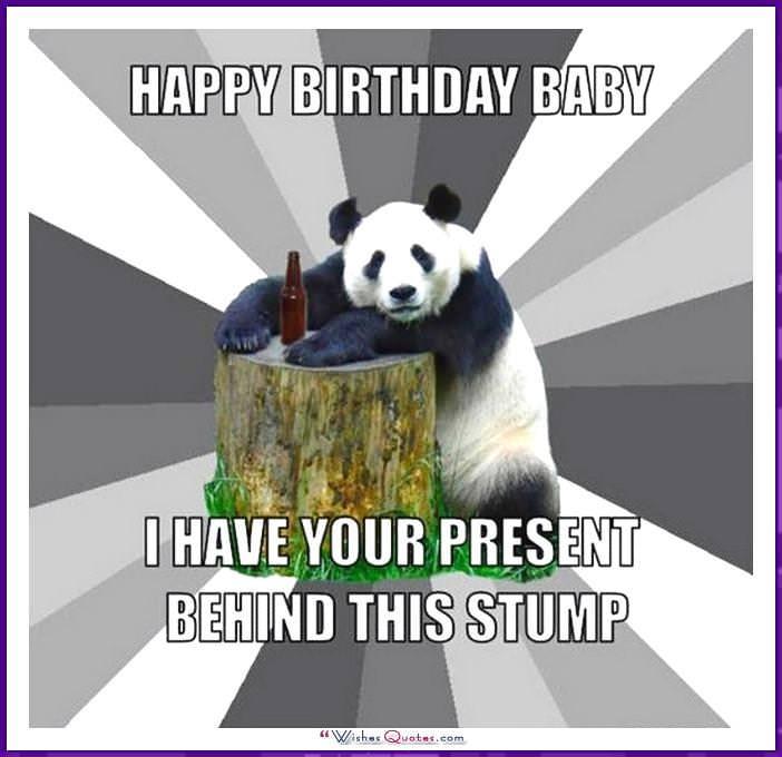 happy birthday memes with