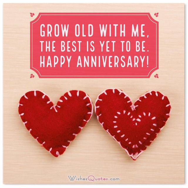 Romantic First Wedding Anniversary Messages for Husband