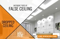 Different Types of False Ceiling or Dropped Ceiling - Wishfin