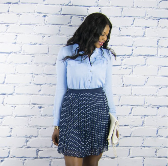 polkadot skirt-denim top-13