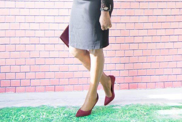 long sleeve-peplum-dress