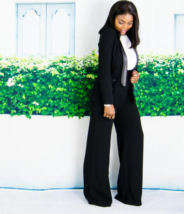 women blazer outfit