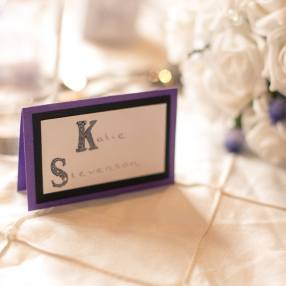 Alice In Wonderland Name Card