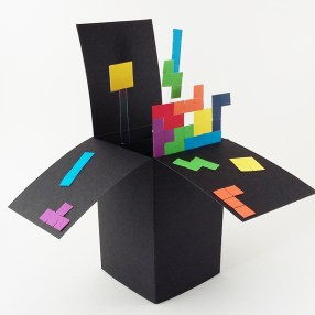 Handmade Pop-Up Box Game Cards
