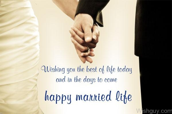 Happy Marriage Life Wishes Best Friend