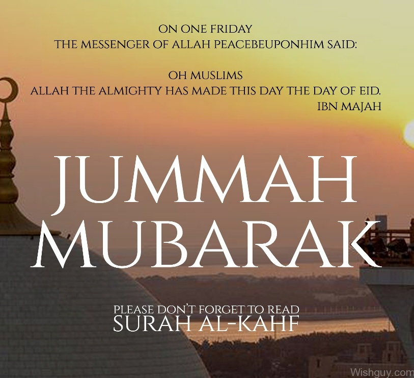 Jumma Mubarak Wishes Wishes Greetings Pictures – Wish Guy