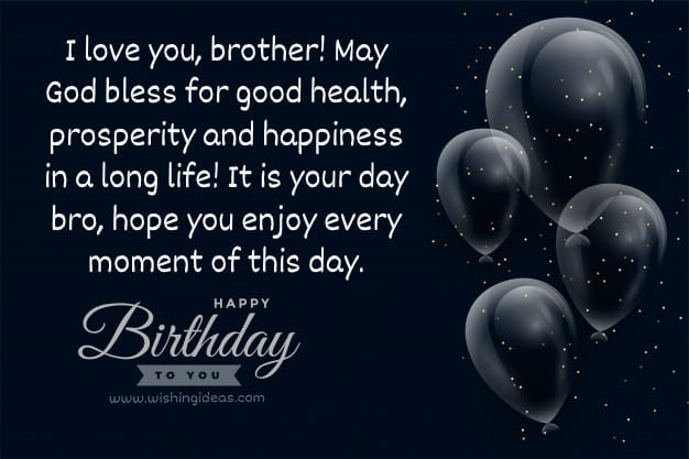 Message to Happy Birthday Wishes for Big Brother