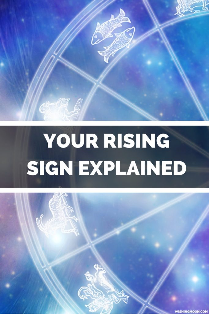 Rising Signs Explained Wishing Moon