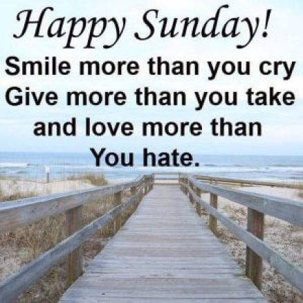 Sunday Quotes Images