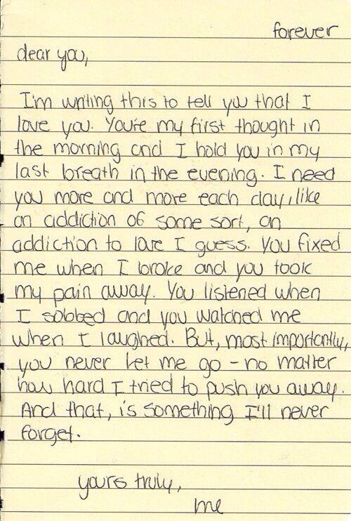 Love Note For Her : Sweet And Emotional Love Note For Her