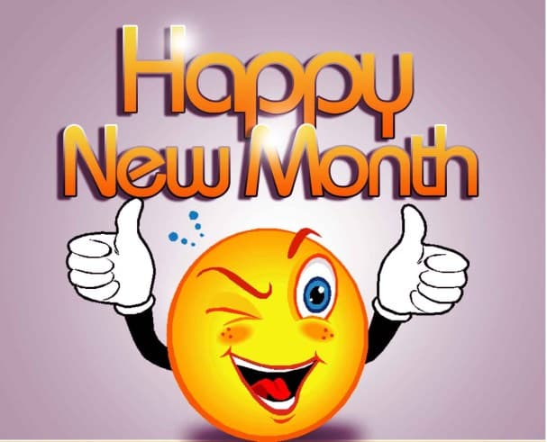 happy new month 1