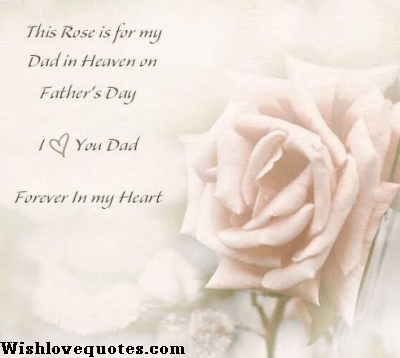 Happy Father Day In Heaven
