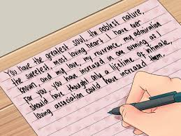 How To Write Love Letter