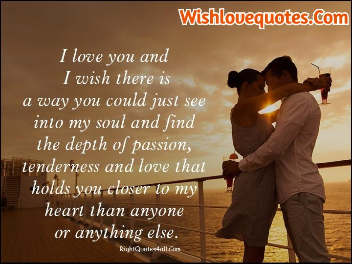 Long Deep Love Messages For Him - Wish love Quotes