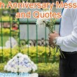 Death Anniversary Messages