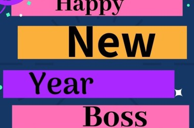 New Year Wishes for Boss
