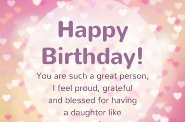 Blessing Birthday Wishes For Daughter