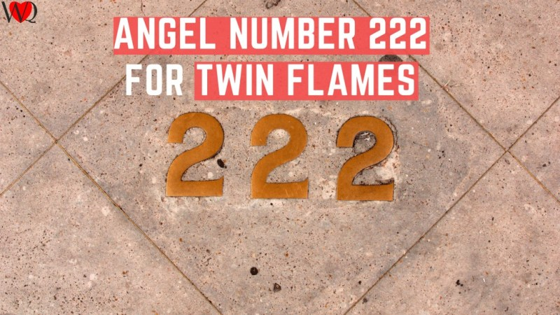 222 Angel Number Twin Flame