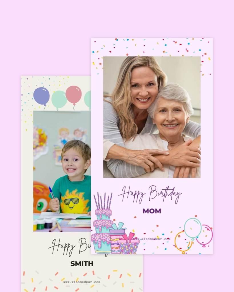 create free birthday story