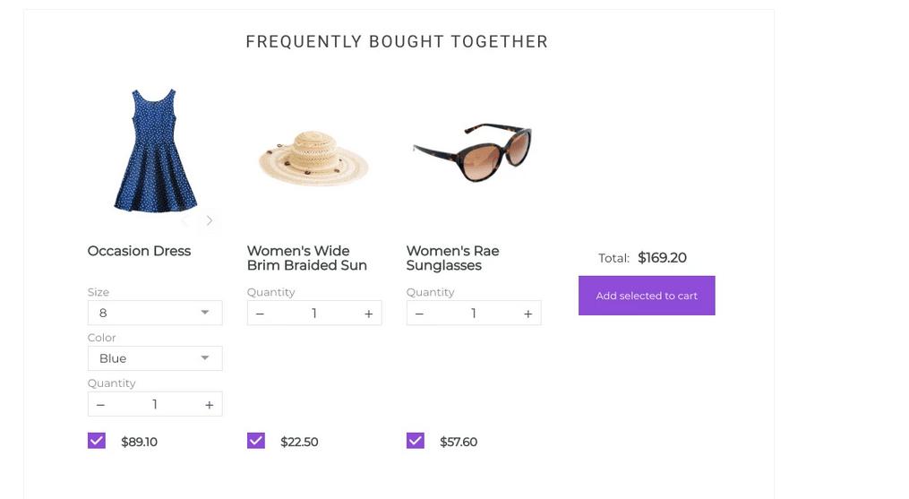 Fonctionnalités de Shopify Bundle