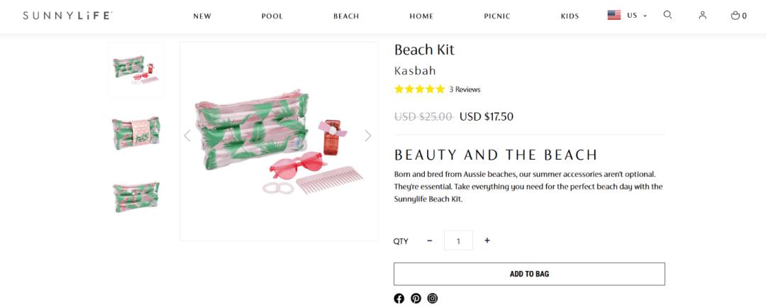 SunnyLife's Beach Kit