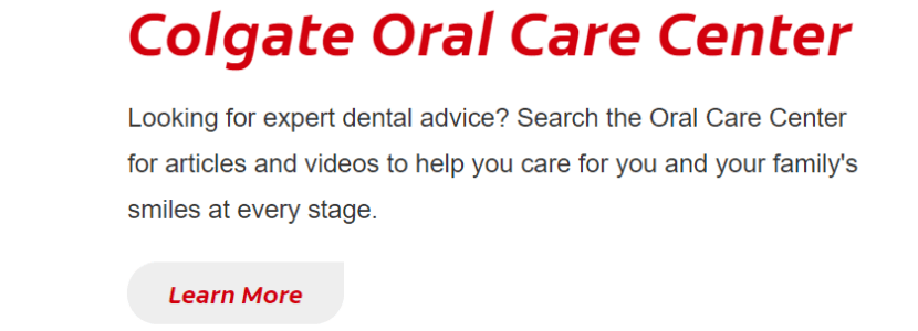 Experts dentaires Colgate