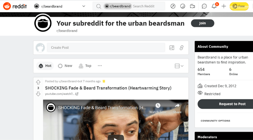 brand subreddit