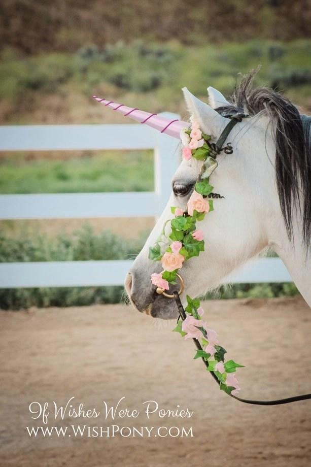 Pink & Magenta Unicorn Horn