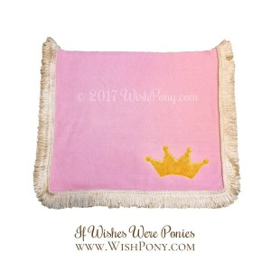 Pink Saddle Blanket for Pony
