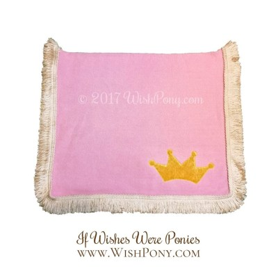 Pink Saddle Blanket for Pony