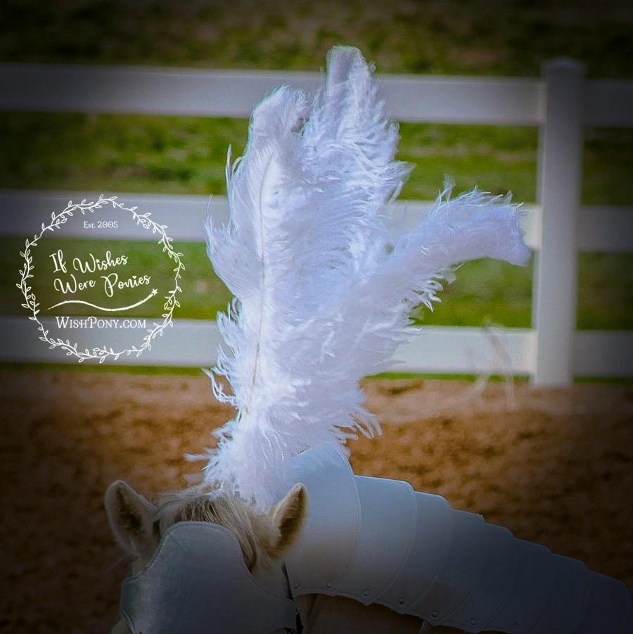 WishPony Horse Armour Bridle Plume HOlder
