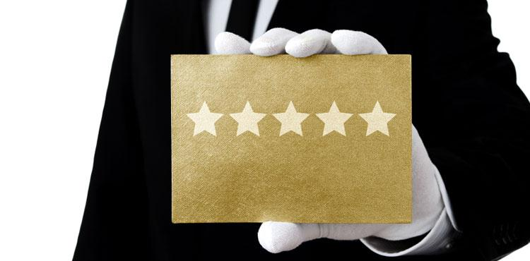 Incoraggiare i clienti a scrivere una recensione
