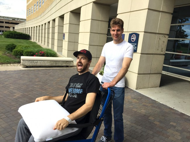 James Hinchcliffe release_160602