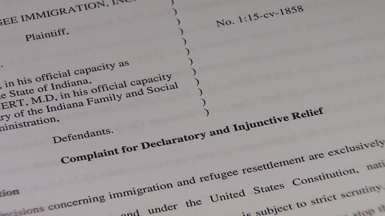 ACLU sues governor on behalf of nonprofit organization that assists immigrants in Indiana
