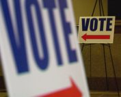 Voting sign_406682