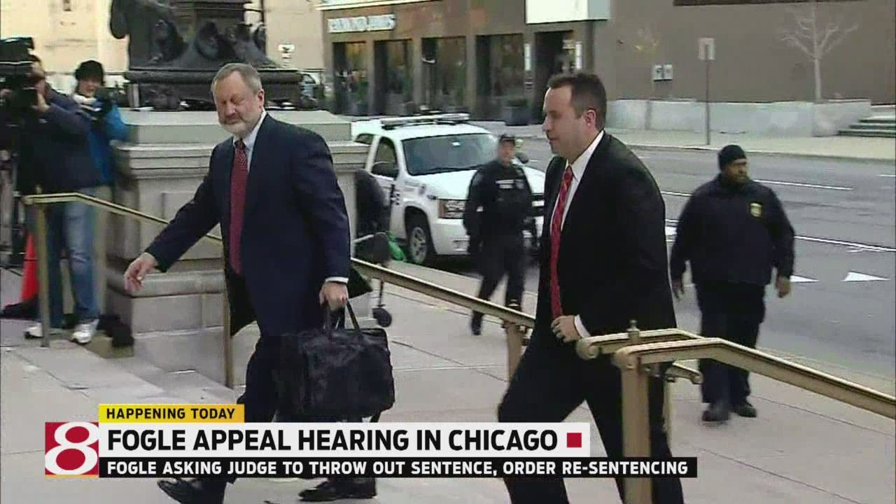 Judge set to hear Jared Fogle's sentence appeal