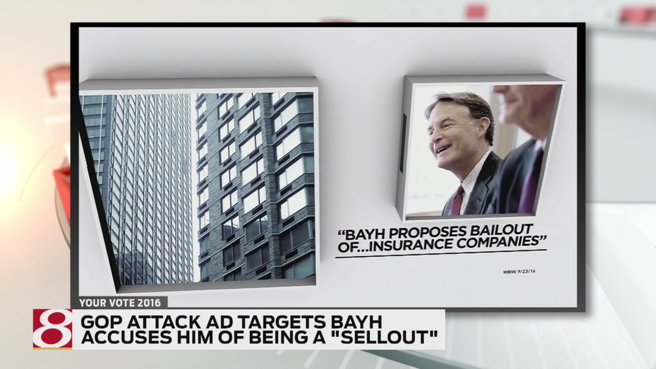 "New GOP ad labels Bayh a ""sellout"""