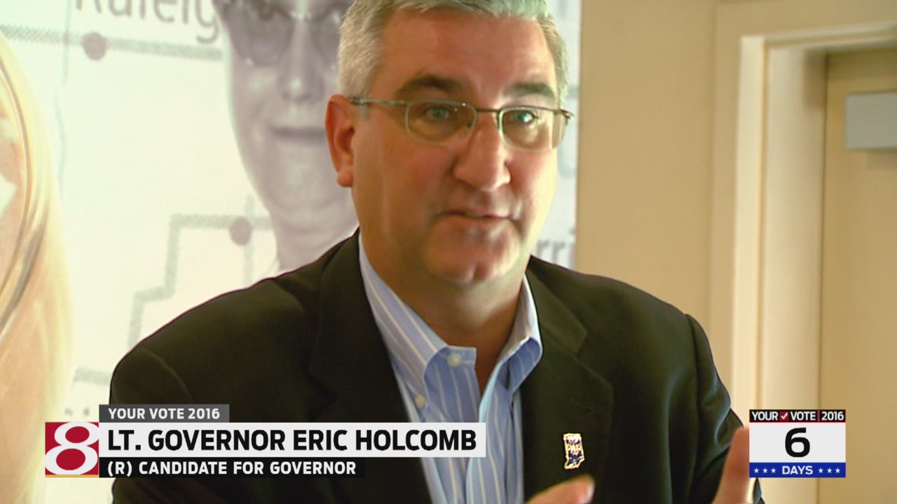 Holcomb looking to Trump for help