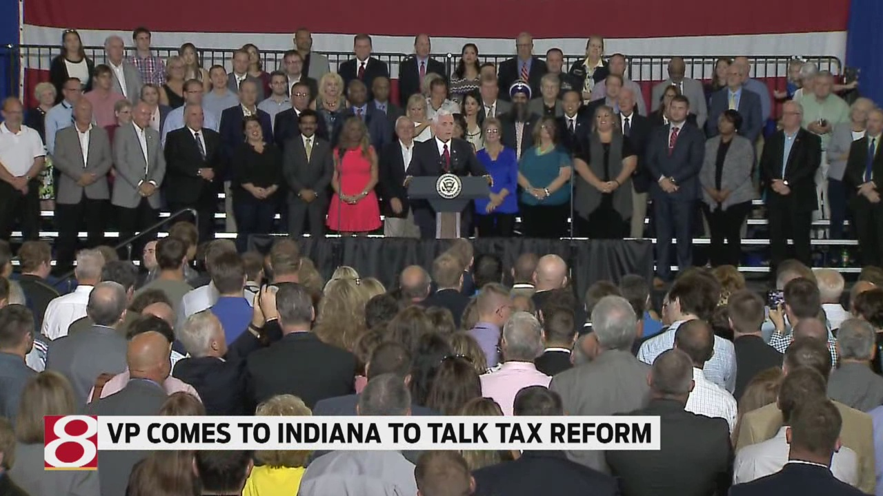 VP Pence headed to Indianapolis to tout GOP tax overhaul
